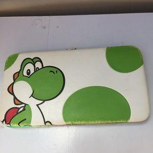 4 FOR $10 Yoshi Super Mario Bros. Hard Side Wallet